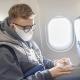 airplane passenger mask