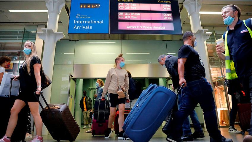 France added to quarantine list for British travelers
