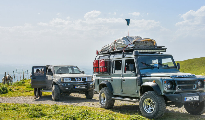 Northwestern of Iran as a Paradise for Off-Roaders