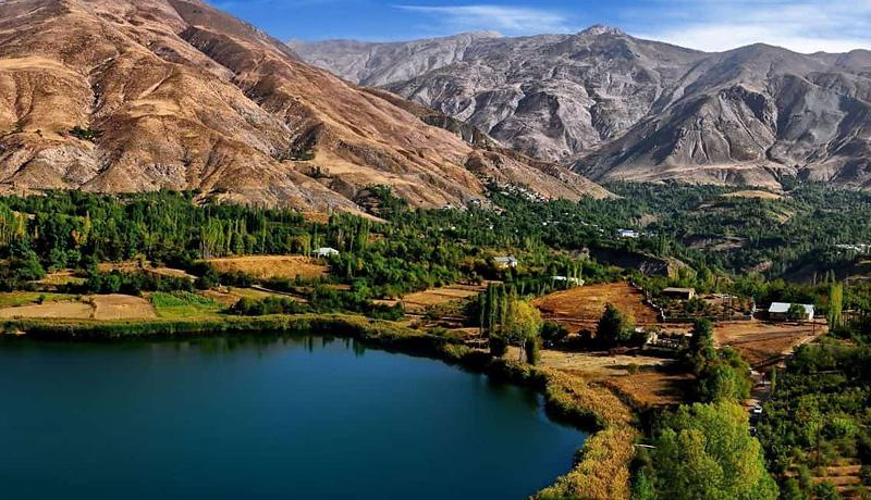 iran lake