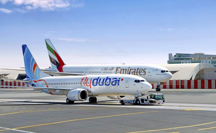 Emirates and Fly Dubai
