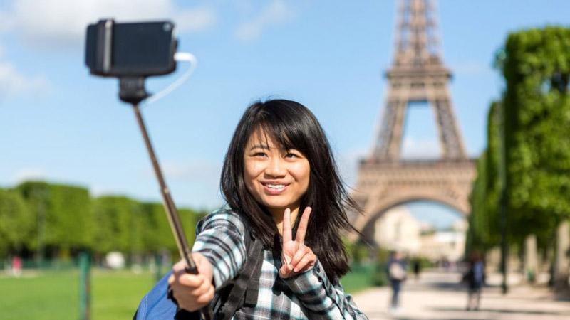 Holiday tourist