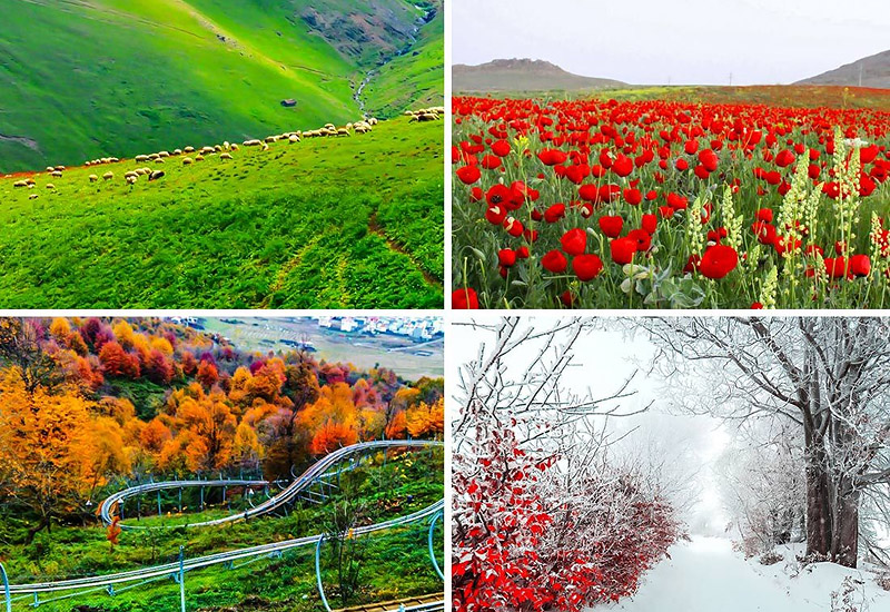 Iran as A Country of Four Seasons