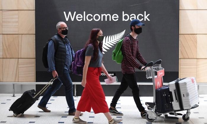 Australia reopens borders