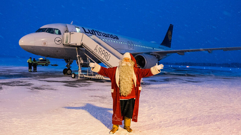 airline Christmas bookings