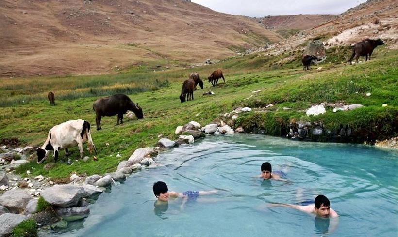Sarein Hot Water springs