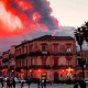 Sicily's Mount Etna Volcano Lights Up the Sky with Latest Eruption